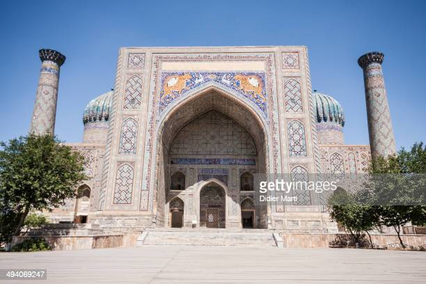 CONTENT] The Registan is the heart of the ancient city of Samarkand in Uzbekistan It was a major stop along the Silk road in Central Asia The...