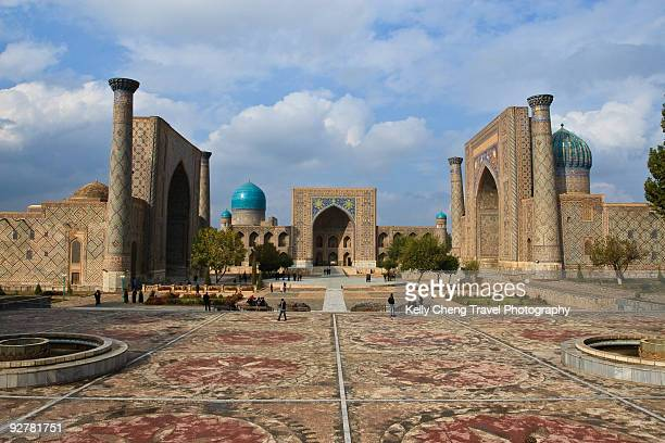 the registan - muziek stock pictures, royalty-free photos & images