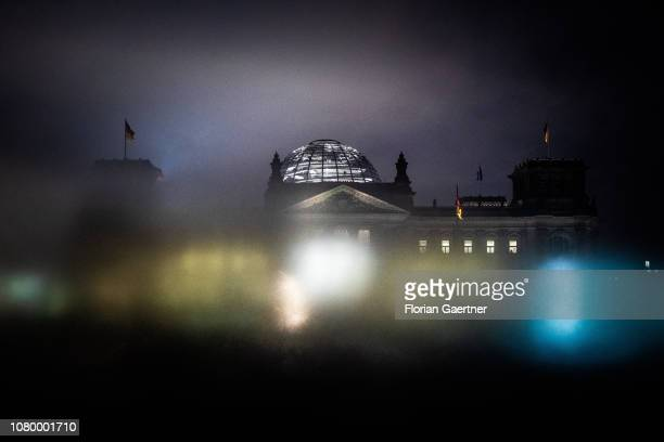 The Reichstag building is pictured on January 08 2019 in Berlin Germany
