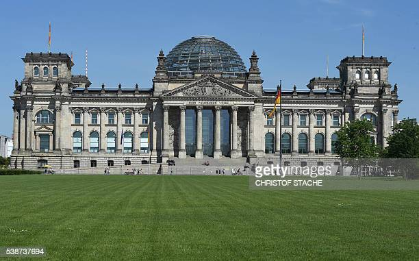 The Reichstag building seat of the German lower house of parliament Bundestag is seen on June 7 2016 in Berlin / AFP / CHRISTOF STACHE
