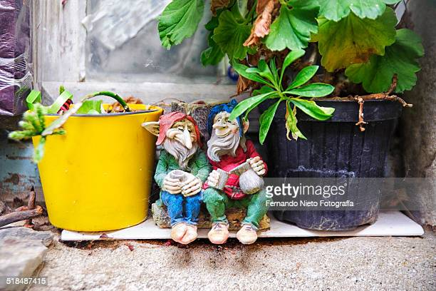 The relaxing break of the Gnomes