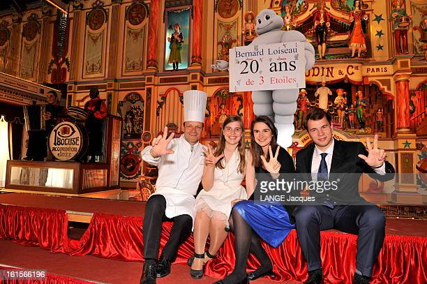 The Relay Bernard Loiseau Celebrates Its 20th Anniversary At Bocuse. Paul BOCUSE a invité dans son établissement de COLLONGES-AU-MONT-D'OR Dominique...