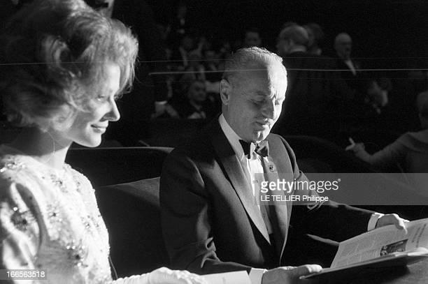 The Release In France Of The Film 'Le Jour Le Plus Long' Le 26 septembre 1962 au Palais de Chaillot à Paris l'actrice française Irina DEMICK...