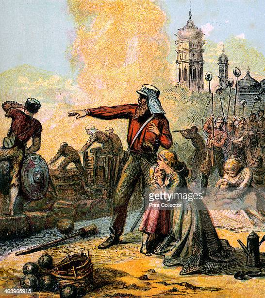 'The Relief of Lucknow' 1857 The siege of Lucknow was one of the major engagements of the uprising against British rule in India which began in 1857...