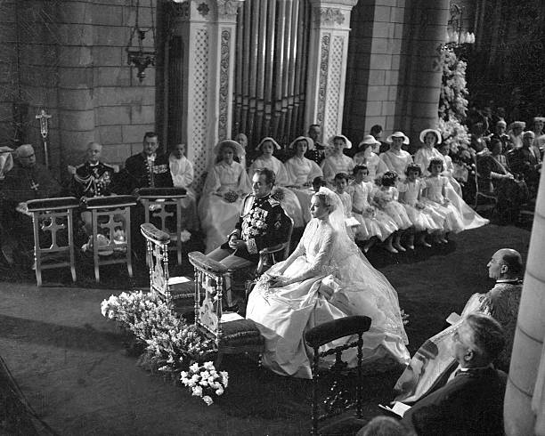 The Marriage Of Prince Rainier Of Monaco And Grace Kelly Wall Art