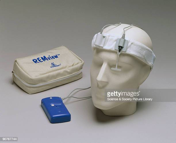 The REM view uses eyelid movement sensors to detect REM during sleep an indication that dreaming is taking place This device was developed to better...