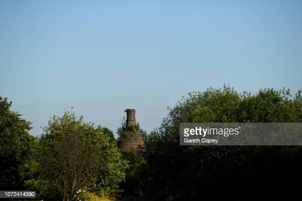 The remaining kiln of Heron Cross Pottery Fenton on June 28 2018 in Stoke on Trent England At the height of the Potteries industry the StokeonTrent...