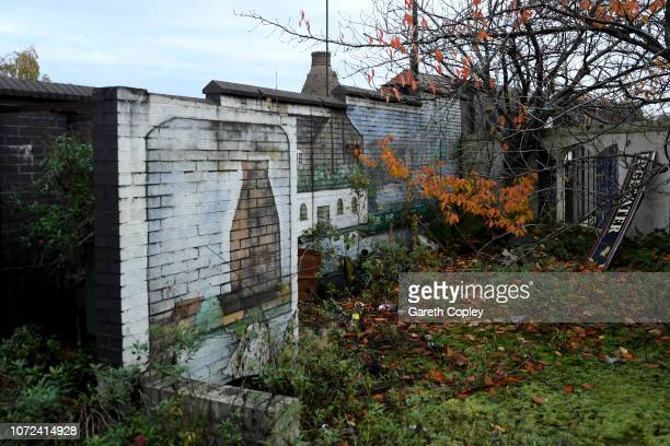 The remaining kiln of Price KensingtonTeapots Burslem on November 13 2017 in Stoke on Trent England At the height of the Potteries industry the...