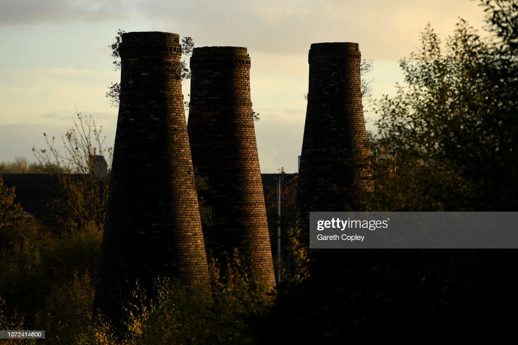 Kilns Feature - Stoke on Trent : News Photo