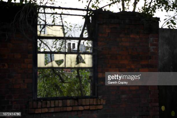 The remaining kilns of Furlong Mills Burslem on October 5 2017 in Stoke on Trent England At the height of the Potteries industry the StokeonTrent...