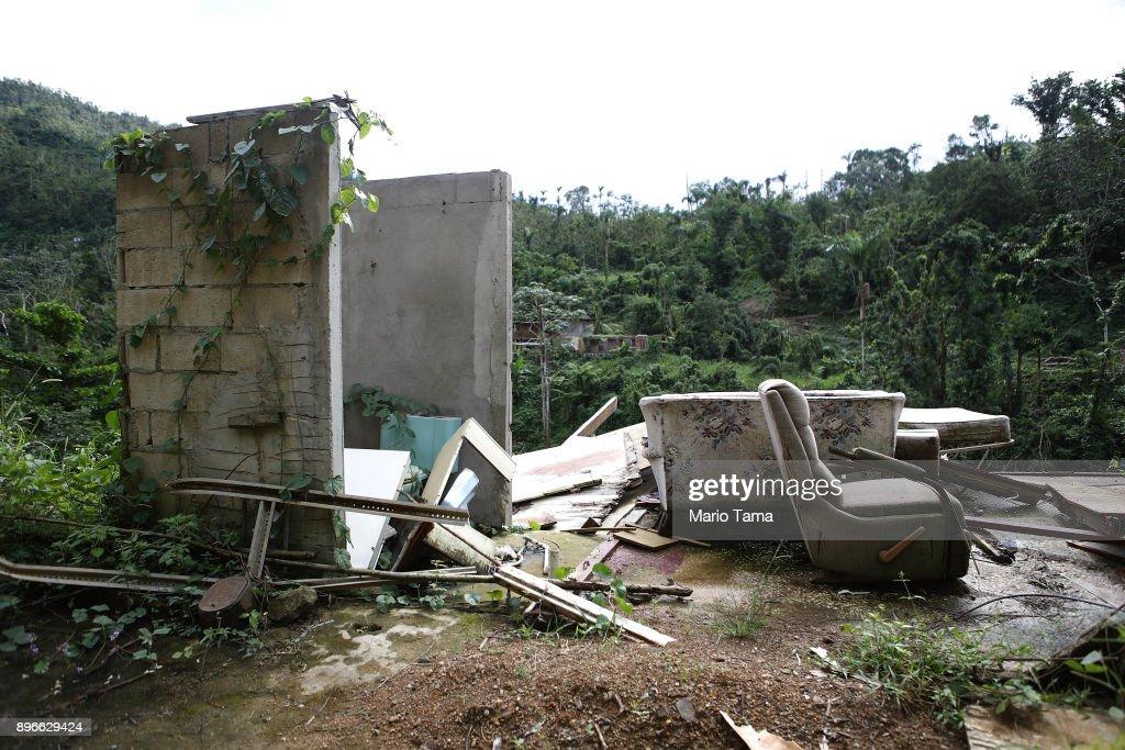 Puerto Rico Marks Holiday Season Amidst Slow Hurricane Recovery : News Photo