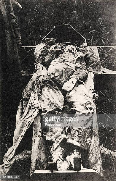 The remains of a proBelgian German officer who was shot behind the right ear at the Brussels North Station while preparing a false passport for a...