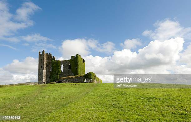 The remains of Ballycarbery Castle near Cahersiveen.