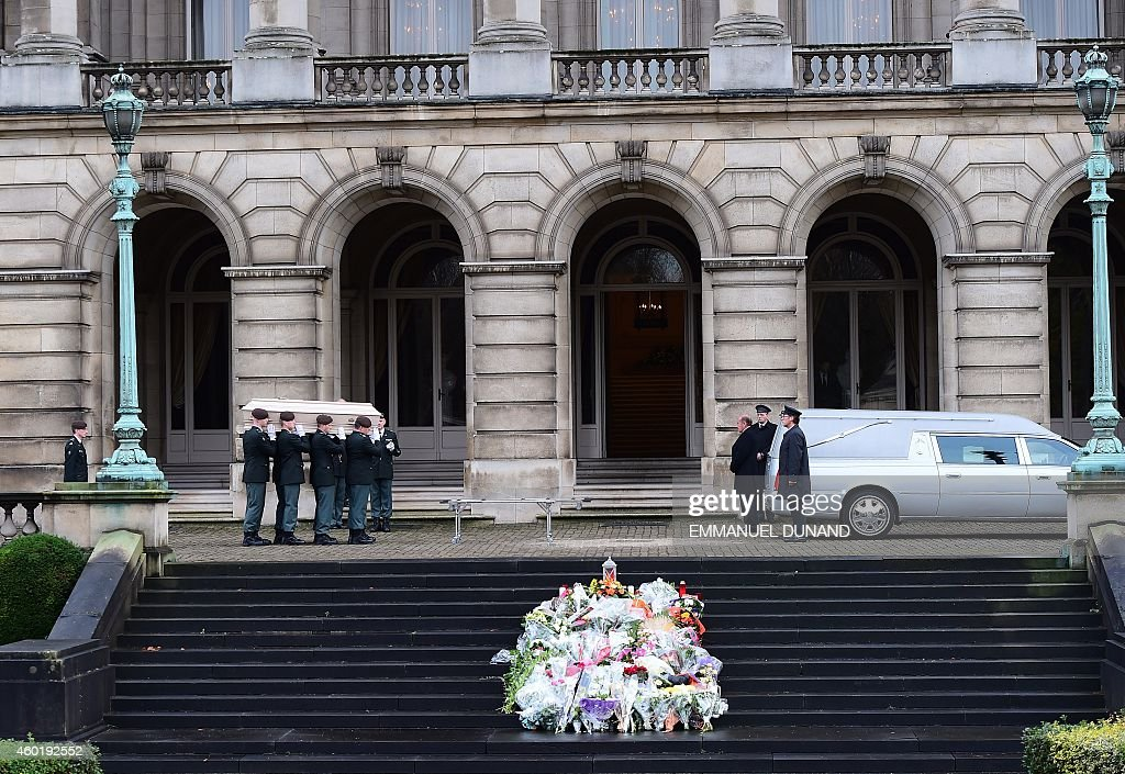 BELGIUM-ROYALS-FUNERAL-FABIOLA : News Photo