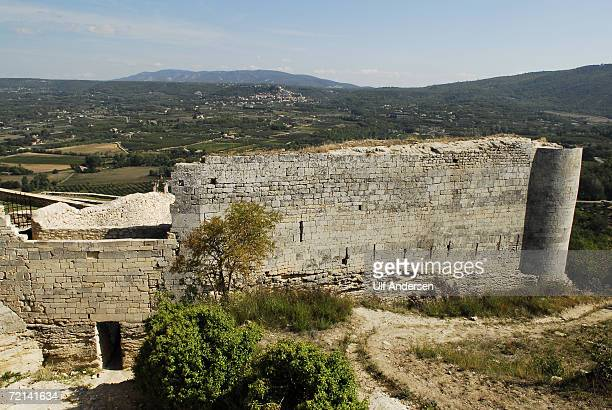 The remains of Marquis de Sade's Castle in Lacoste ProvenceFrance taken on the 20th of September 2006 The castle is at the top of the village the...