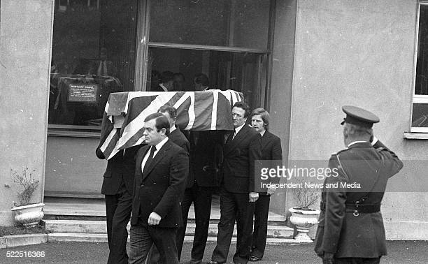 The remains of the British Ambassador Christopher EwartBiggs being removed from St Vincent's Hospital The Ambassador and his secretary Miss Judith...