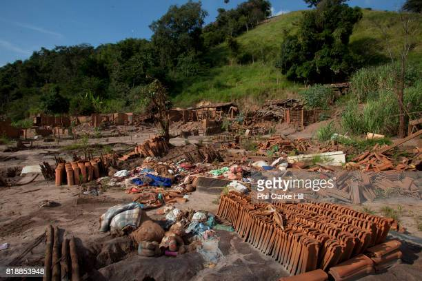 The remains of the village of Paracatu de Baixo In Nov 2015 the worst environmental disaster in Brazil's history happened when an iron tailings dam...
