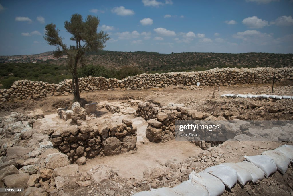 King David's Palace Is Uncovered After Archealogical Dig : News Photo