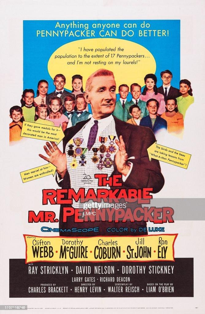The Remarkable Mr. Pennypacker : ニュース写真