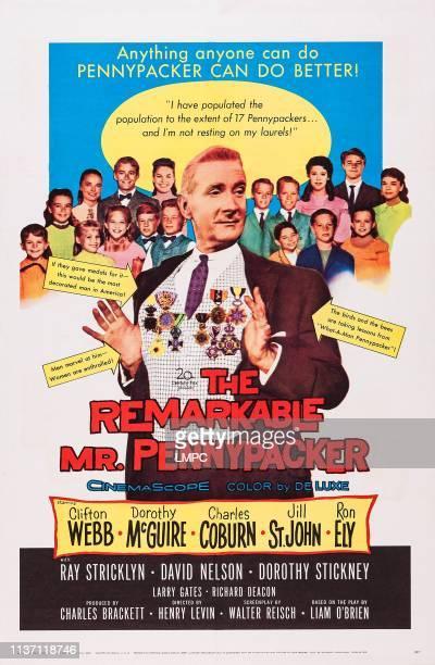 The Remarkable Mr Pennypacker, posterThe Remarkable Mr Pennypacker, US poster art, Clifton Webb, , 1959.