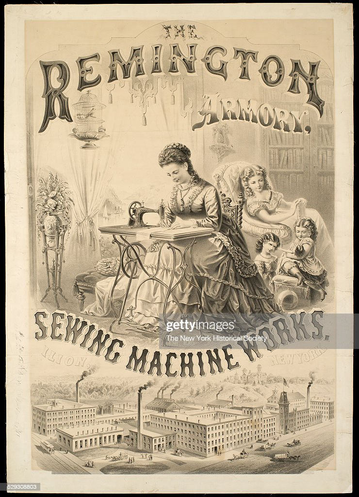The Remington Armory, Sewing Machine Works, Ilion, New York : News Photo