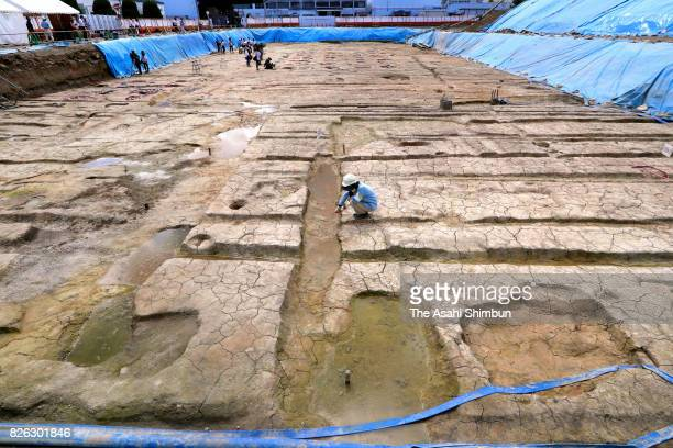 The remnants of a large ninthcentury mansion likely belonging to a highranking nobleman were discovered on August 3 2017 in Kyoto Japan The mansion...