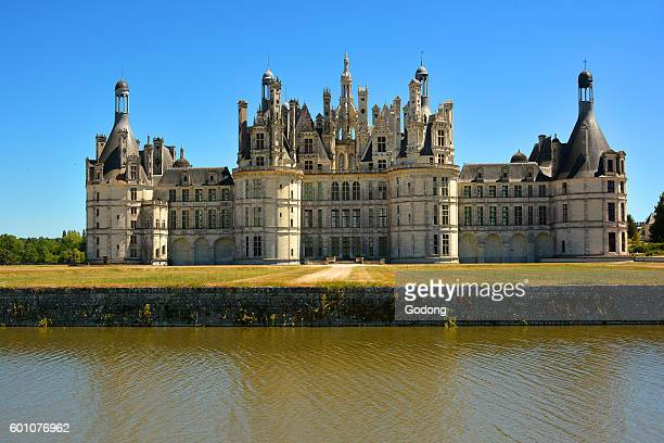 The Renaissance Chateau de Chambord UNESCO World Heritage Site Loire Valley Chambord Loir et Cher France
