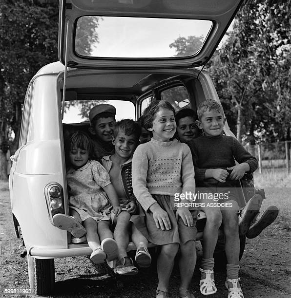 The Renault Car 4L the First French Family Car in France circa 1960