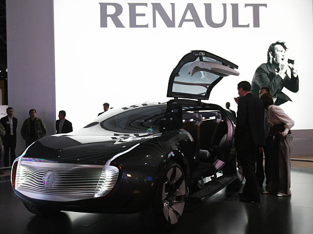 The Renault Ondelios Concept Is Presente Pictures Getty Images