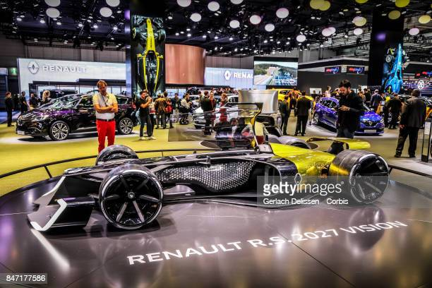 The Renault RS 2027 Vision on display at the 2017 Frankfurt Auto Show 'Internationale Automobil Ausstellung' on September 13 2017 in Frankfurt am...