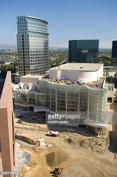 The Rene and Henry Segerstrom Concert Hall by architect Cesar Pelli is set to open September 15 at the Orange County Performing Arts Center