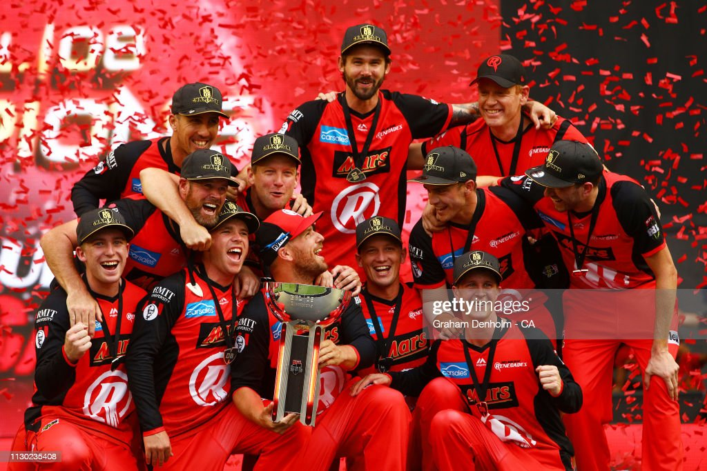 BBL - Final: Melbourne Renegades v Melbourne Stars : Fotografía de noticias