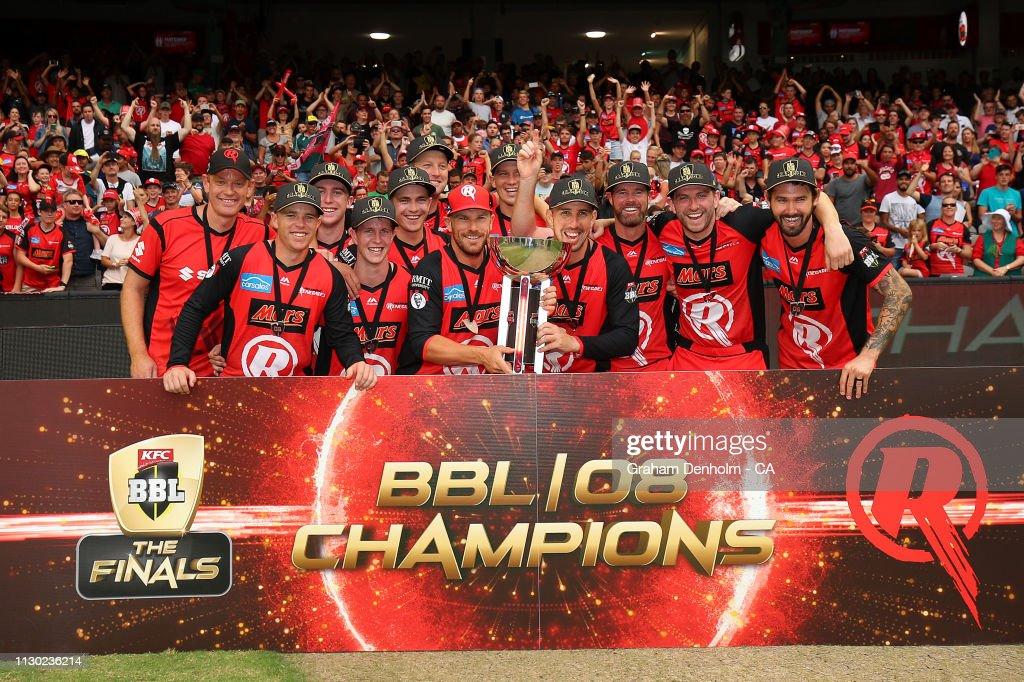 BBL - Final: Melbourne Renegades v Melbourne Stars : ニュース写真