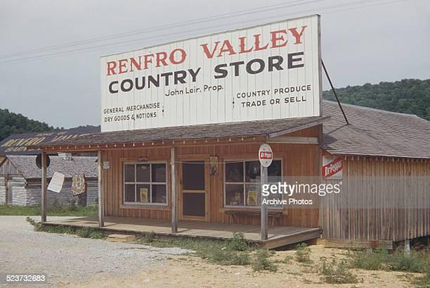 The Renfro Valley Country Store in Renfro Valley Kentucky circa 1960