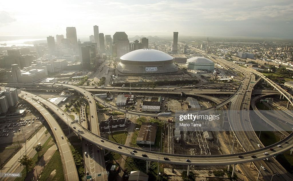 New Orleans Faces One Year Anniversary Of Hurricane Katrina : News Photo