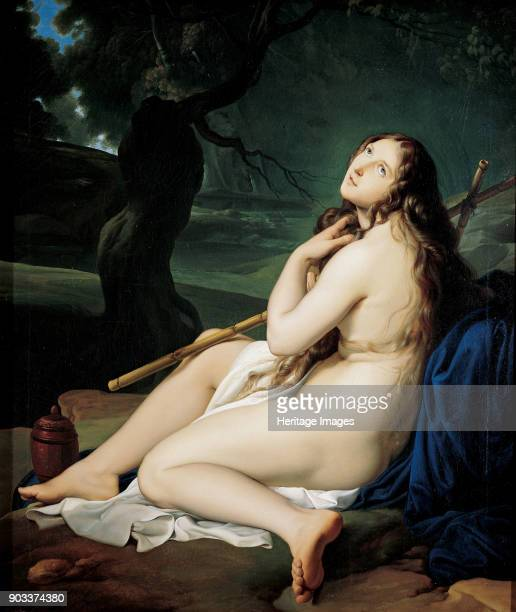 The Repentant Mary Magdalene. Found in the Collection of Labirinto di Franco Maria Ricci.