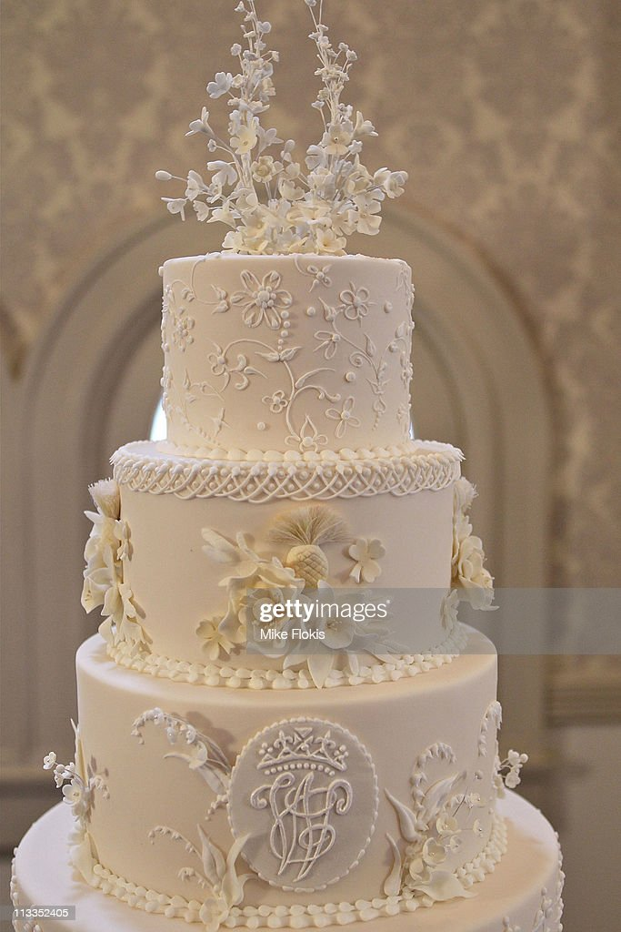 The Replica Wedding Cake Displayed At The Queen Victoria Building On
