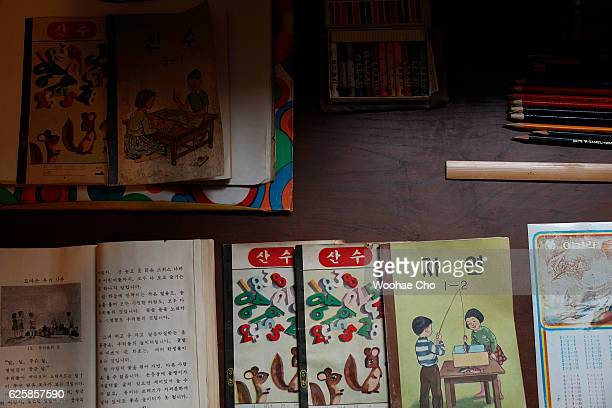 The replicas of possession of president Park Geunhye's childhood are exhibited in the house where Park's family lived from May 1958 when his father...