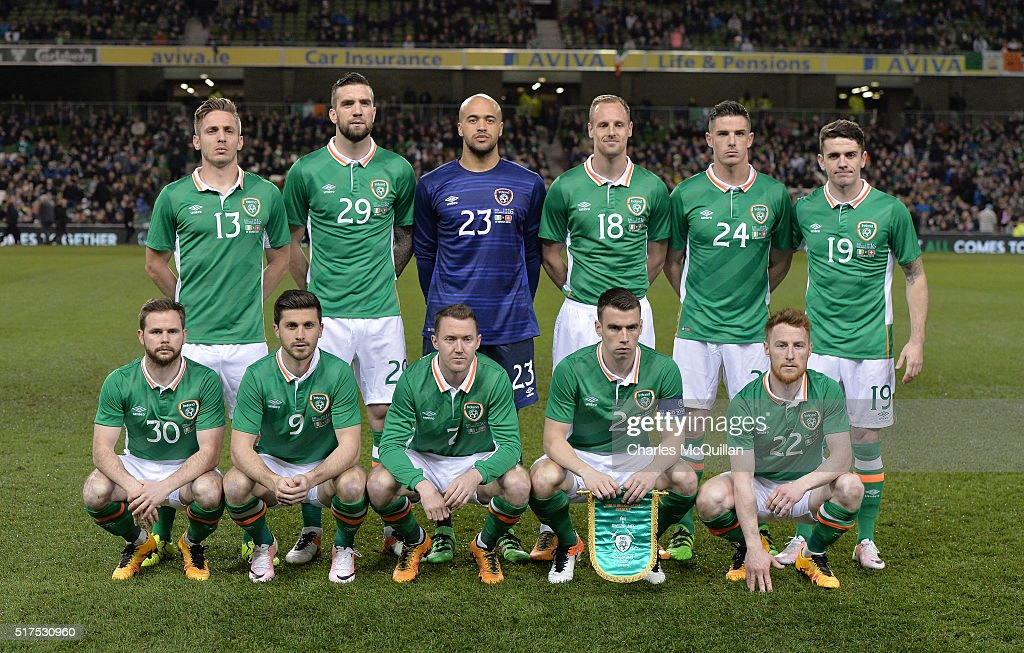 Republic of Ireland v Switzerland - International Friendly : News Photo