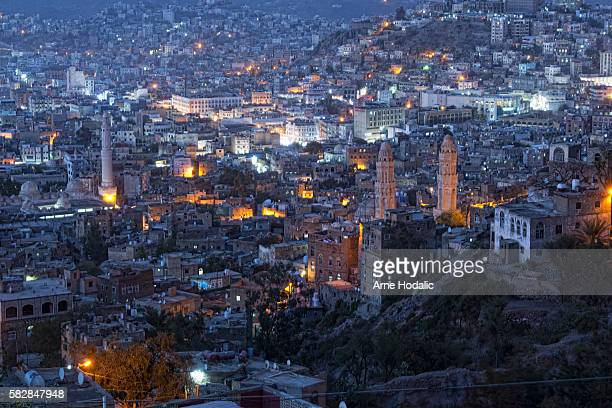 the republic of yemen - ta'izz stock pictures, royalty-free photos & images