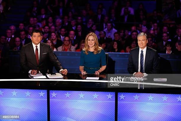EVENTS The Republican Presidential Debate Your Money Your Vote Pictured Carl Quintanilla Becky Quick and John Harwood moderate CNBC's Your Money Your...