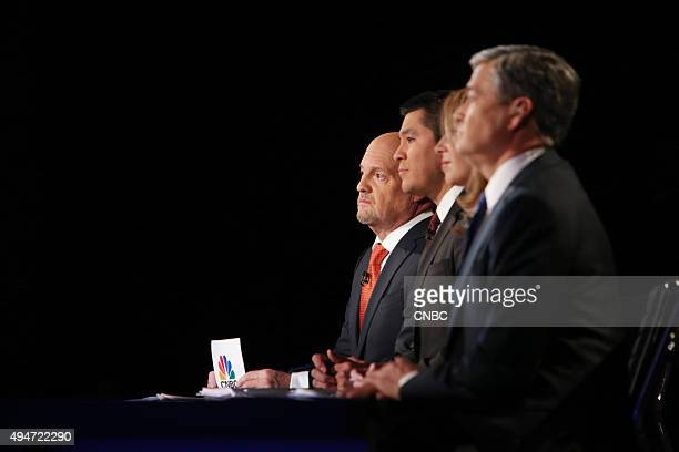 EVENTS The Republican Presidential Debate Your Money Your Vote Pictured Jim Cramer Carlos Quintanilla Becky Quick and John Harwood moderate CNBC's...