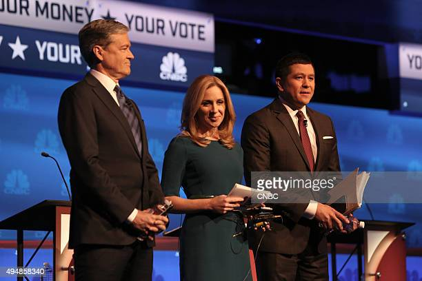 EVENTS The Republican Presidential Debate Your Money Your Vote Pictured CNBC's John Harwood Becky Quick and Carl Quintanilla moderate CNBC's 'Your...