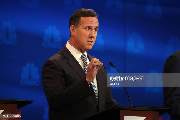 EVENTS The Republican Presidential Debate Your Money Your Vote Pictured Rick Santorum participates in CNBC's Your Money Your Vote The Republican...