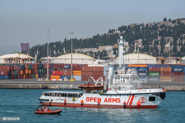 The rescue boat Proactiva Open Arms has docked in Barcelona with 60 people rescued in the Mediterranean off the coast of Libya Barcelona has offered...