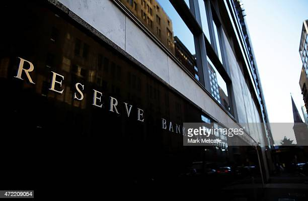 The Reserve Bank of Australia headquarters are seen on May 5 2015 in Sydney Australia Forecasters are predicting the Reserve Bank of Australia will...