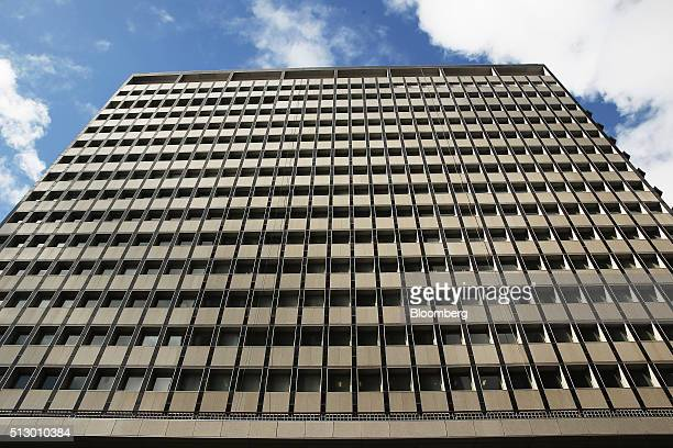 The Reserve Bank of Australia headquarters stands in Sydney Australia on Monday Feb 29 2016 Australian wage rises are the smallest on record jobs...