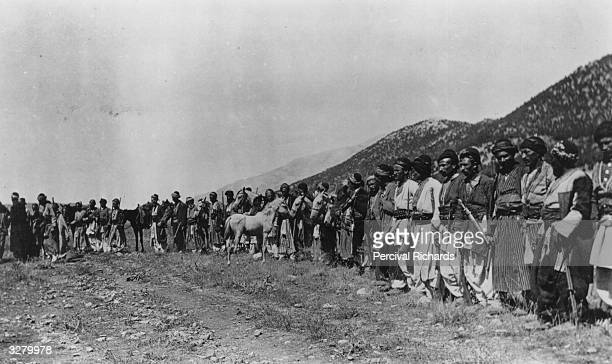 The Reshwan tribe of Kurds who fought the Turks