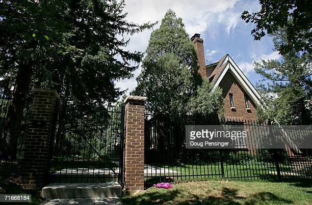 The residence at 749 15th Street where JonBenet Ramsey was murdered in December is seen August 17 2006 in Boulder Colorado At a news conference...