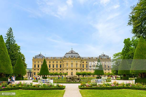 the residence complex of wurzburg, germany - syolacan photos et images de collection